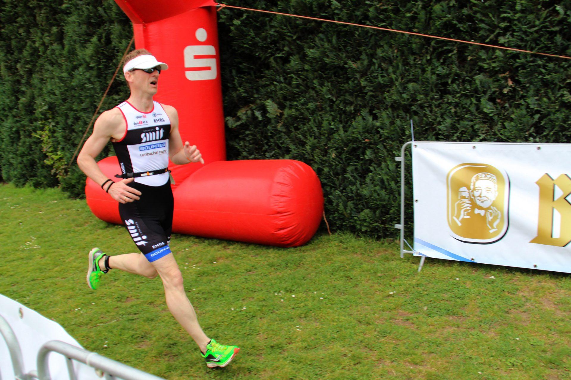 Bernd Krause Triathlon Laufen