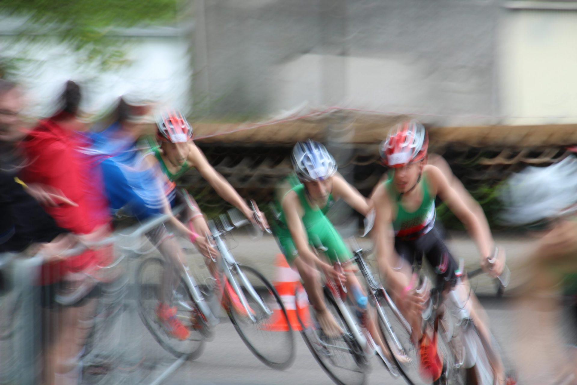 Bernd Krause Triathlon Radfahren