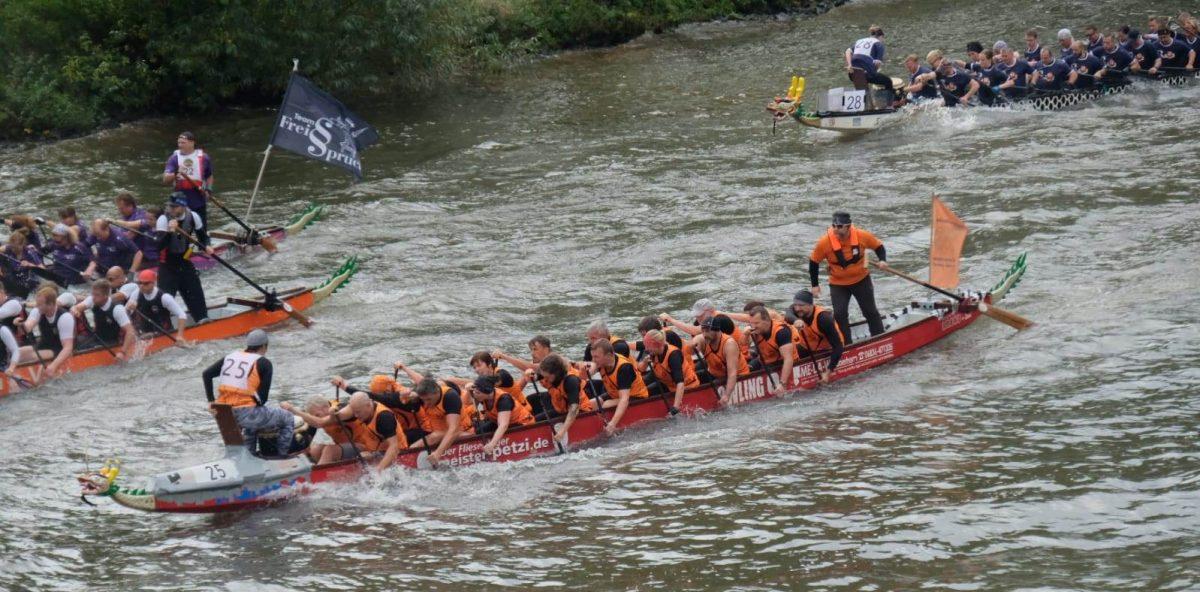 Drachenbootteam Schängel-Express beim Monkey Jumble 2019