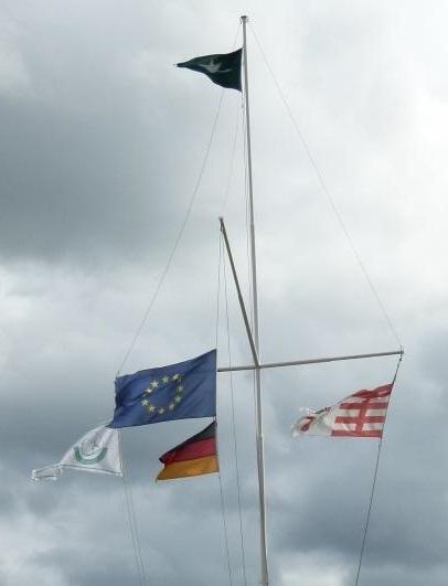 Hüthwohl Flaggenmast (8 2)