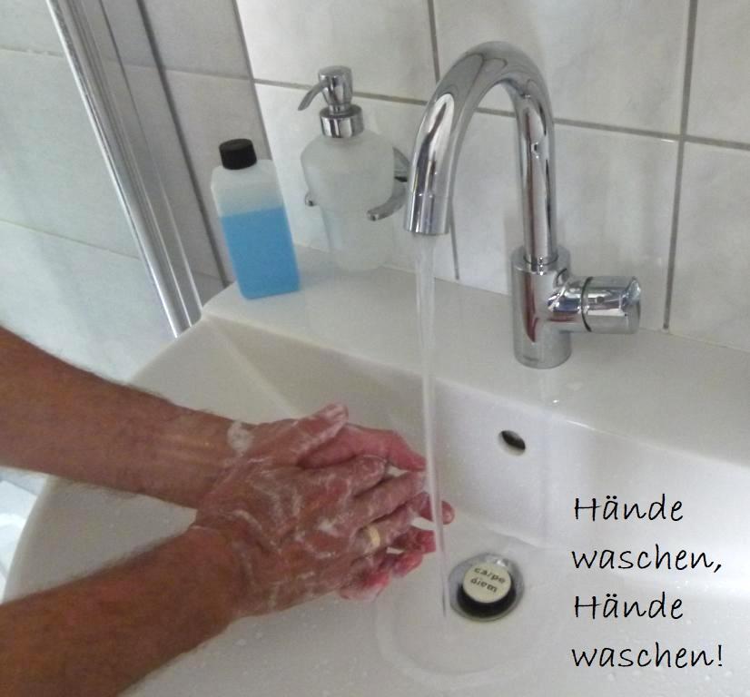 Hüthwohl Corona Händewaschen 3
